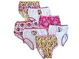 Disney Little Girls' Minnie Seven-Pack of Brief Underwear, Asstd, 4T
