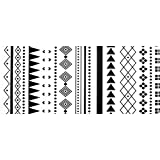 CWJ Retro Black and White Geometric mats into The Door to The Nordic Bedroom Door mats mats Bedside Bay Window Long Non-Slip mat,A,50120