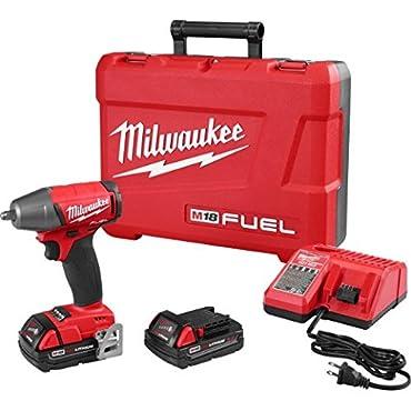 Milwaukee 2754-22CT M18 Fuel 3/8 Impact Wrench Kit