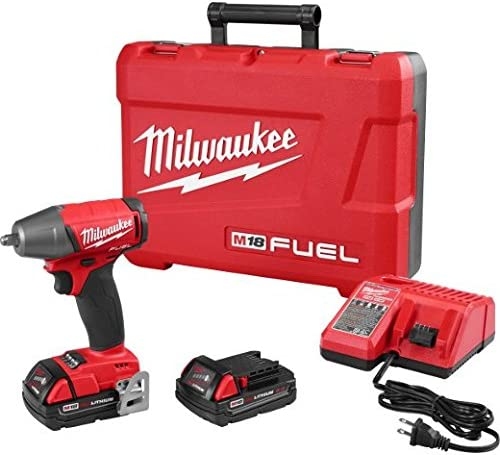 Milwaukee 2754-22CT M18 Fuel 3 8 Impact Wr- Cp Kit