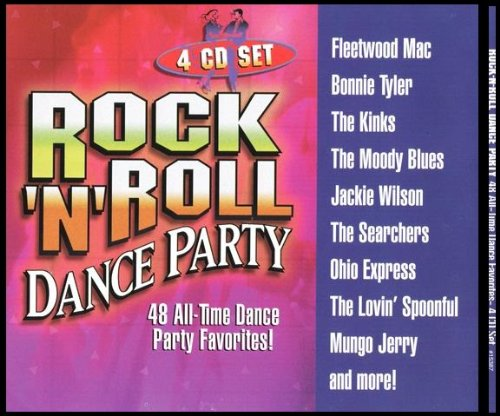 Rock-N-Roll Dance Party 48 All Time Dance Party Favorites! 4 CD - Songs Party All Time Favorite