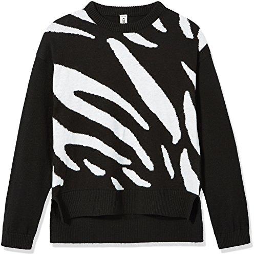 Kid Nation Girls' Long Sleeve Pullover Sweater XS (Kids Sweater Pattern)
