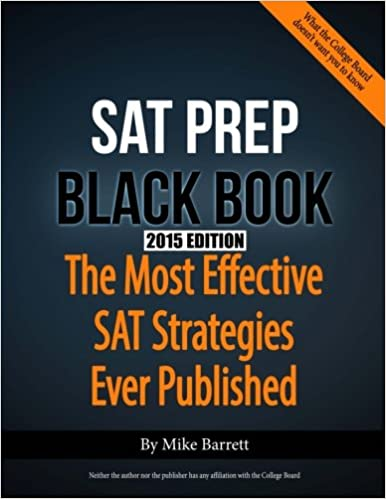 Kết quả hình ảnh cho SAT Prep Black Book: The Most Effective SAT Strategies Ever Published