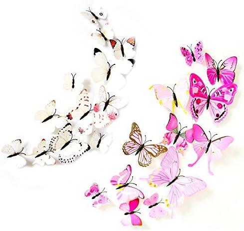 Butterfly Refrigerator Butterflies Refridgerator Decoration