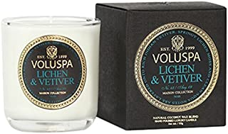 product image for Voluspa Classic Maison Boxed Votive Candle, Lichen and Vetiver, 3 Ounce