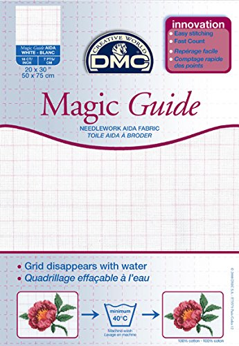 18 Count Magic Guide 20×30 Inches (50x75cm) – Blanc – DC38MG