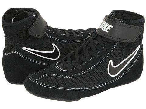 Kids Nike Speedsweep VII Wrestling Shoe Black/White/Black Size 1.5 by NIKE