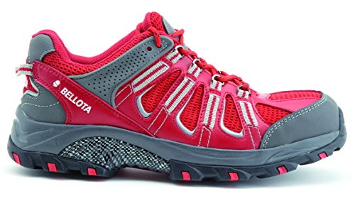 Bellota Trail S1P Chaussures de travail, Taille 42, rouge