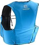 Salomon Unisex S-Lab Sense Ultra 5 Set Backpack, Transcend Blue, Black, S