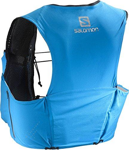 Salomon Unisex S-Lab Sense Ultra 5 Set Backpack, Transcend Blue, Black, S by Salomon (Image #1)