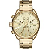 Diesel Watches Mens MS9 Chrono Gold-Tone Watch