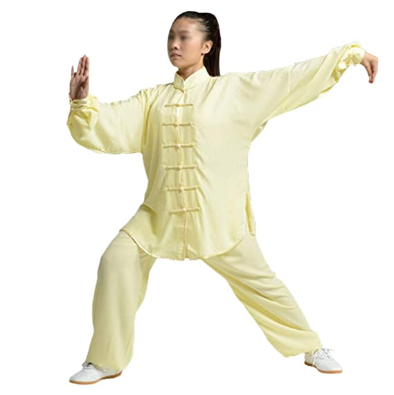 Mujer Unisex Artes Marciales Tai Chi Kung Fu Uniforme Ropa ...
