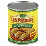Las Palmas Medium Green Chile Enchilada Sauce, 28 Ounce - 12 per case.