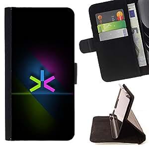 - Neon Color Minimalist/ Personalizada del estilo del dise???¡¯???¡Ào de la PU Caso de encargo del cuero del tir???¡¯????n del s - Cao - For HTC Desire 82