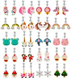 Clip on Earrings for Girls-Princess Jewelry
