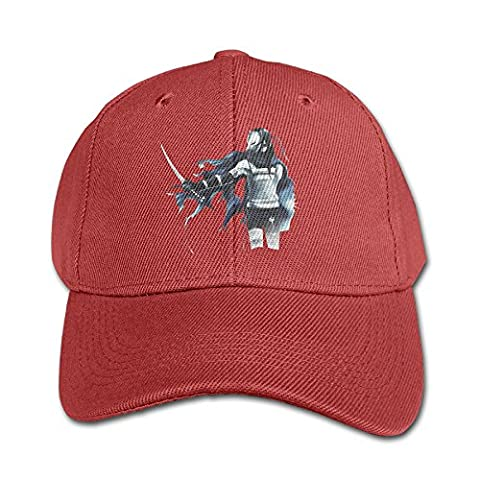 LALayton Naruto-samurai Adjustable For Duck Tip Cap - Red - Samurai Champloo Military Cap