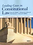img - for Leading Cases in Constitutional Law, A Compact Casebook for a Short Course, 2012 (American Casebook) book / textbook / text book