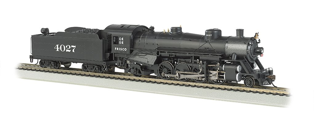 Bachmann Industries Trains Usra Light 2-8-2 Dcc Ready Frisco #4027 With Medium Tender Ho Scale Steam Locomotive