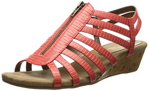 A2 Wedge Women Coral by Aerosoles Yetaway 0ggZxwP8q