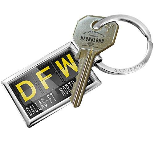 Keychain DFW Airport Code for Dallas/Ft. Worth, TX - - Port Air Dallas
