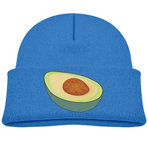 (Kids Knitted Beanies Hat Cool Avocado Winter Hat Knitted Skull Cap for Boys Girls)