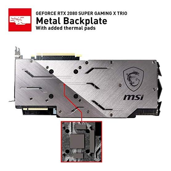 MSI Gaming GeForce RTX 2080 Super 8GB GDRR6 256-Bit HDMI/DP Nvlink Tri-Frozr Turing Architecture Overclocked Graphics… 51HaiX16rFL. SS555