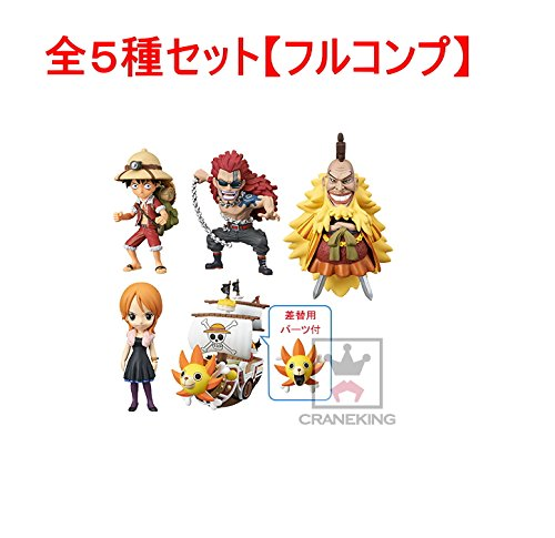 clásico atemporal ONE PIECE WCF Treasure rally Shiki Nami Sunny ver ver ver the entire set of 5  costo real