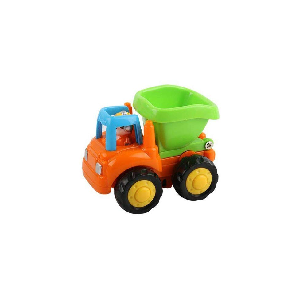 Bigib Push and Go Friction Powered Car Toys Set