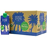 CocoGoods Co. Vietnam Single-Origin 100% Organic Coconut Water 16.9 fl. oz (Pack of 12)