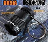 New 2.517.5 Mini Pocket Monocular Binocular Spy Hidden Telescope Invisible Tool