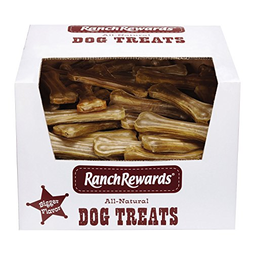Ranch Rewards Bulk Pressed Rawhide Bones (Flavored Compressed Rawhide)