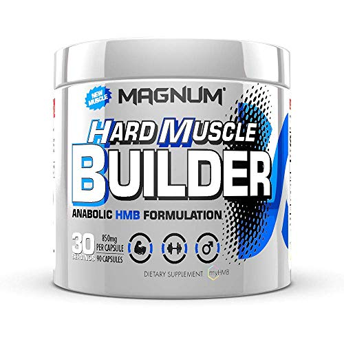 Magnum Nutraceuticals Hard Muscle Builder - 90 Capsules - Anabolic HMB Supplement - Build Muscle - Increase Strength - Faster Recovery