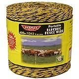 Baygard Electric Fence Yellow/Black Wire - 1312 Feet 00122