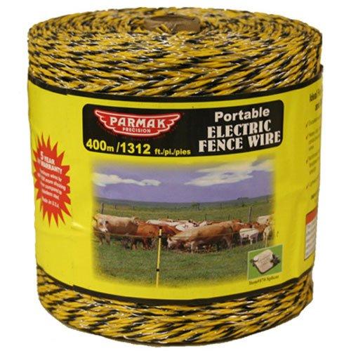 Baygard Electric Fence Yellow/Black Wire - 1312 Feet 00122 by Baygard