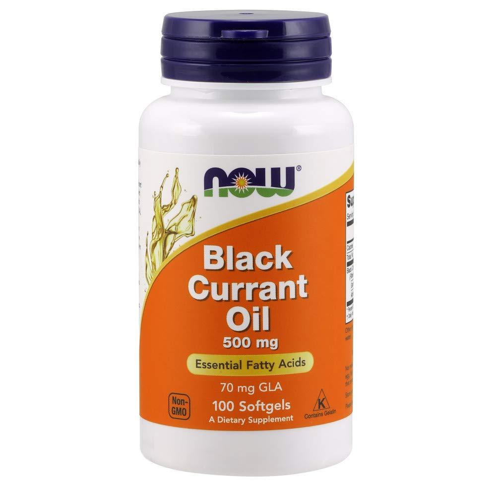 NOW Black Currant Oil 500 mg,100 Softgels