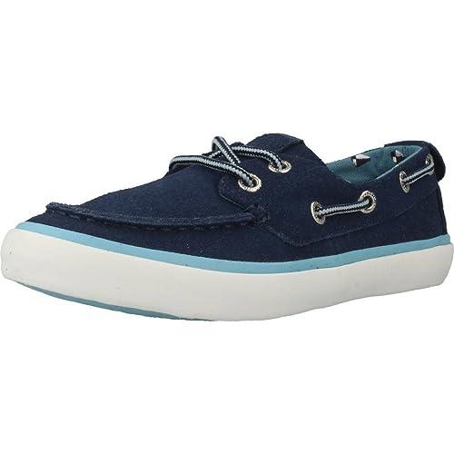 Zapatos de Cordones para niña, Color Azul, Marca GIOSEPPO