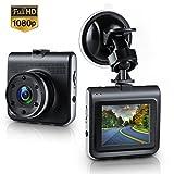 Dash Cam,Amuoc Mini Dash Camera for Cars with FHD 1080P, 2.2