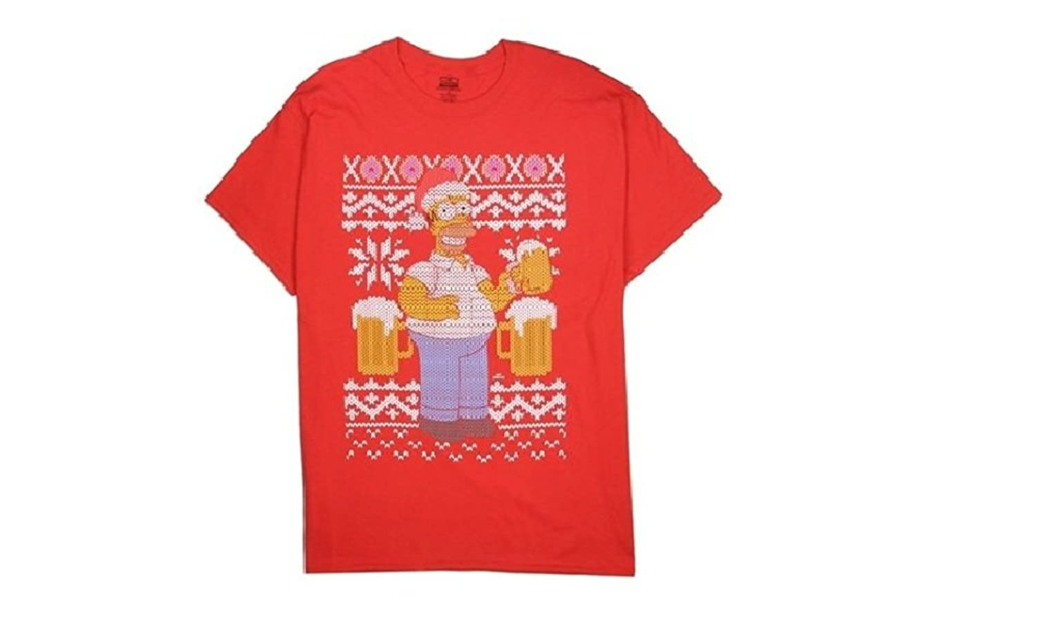 hot sale The Simpsons Homer Simpson Beer Ugly Christmas T