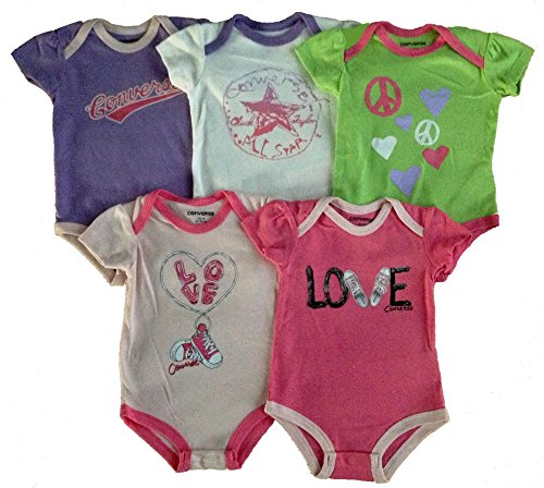 Converse Baby Layette Set 5 Pcs Bodysuit