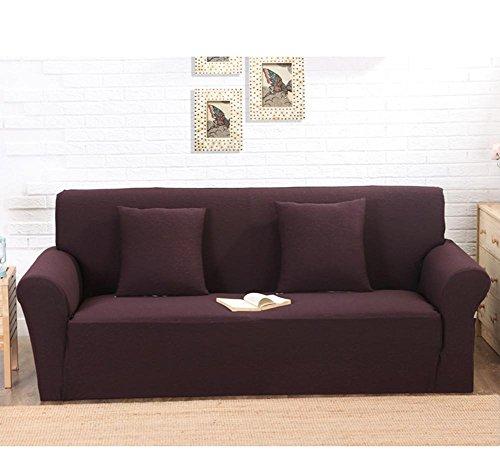 Funda de sofá elástica Slipcovers 1/2/3 plazas protectores ...