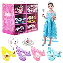 Play Shoes Set with Princess Tiara & Accessories