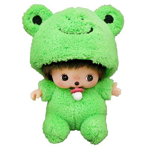 Hanna Barbera Characters Costumes (Sekiguchi Monchhichi Fluffy Animal Costume Frog Bebichhichi Boy Plush)