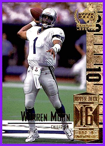 1999 Upper Deck Century Legends by UD #66 Warren Moon HOF SEATTLE SEAHAWKS
