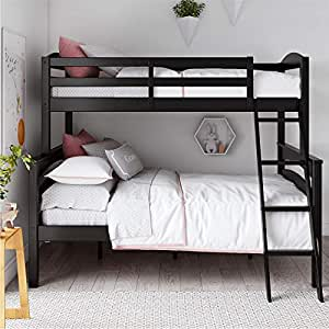 Amazon Com Dorel Living Brady Solid Wood Bunk Beds Twin