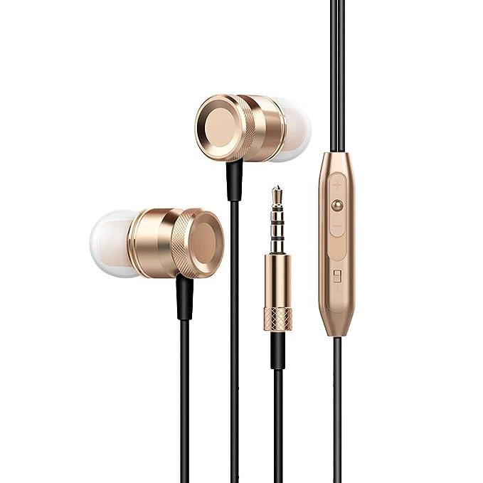 Review Bass earphones (Gold) |