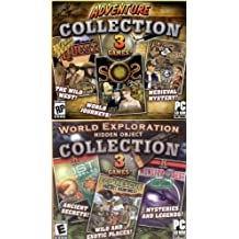 6 Hidden Object Games! Lost Worlds + EcoRescue: Project Rainforest + MonsterQuest + Wild West Quest + S.O.S.: Save Our Spirits + Hide & Secret: Cliffhanger Castle