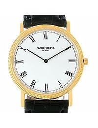 Patek Philippe Calatrava automatic-self-wind mens Watch 3520 (Certified Pre-owned)