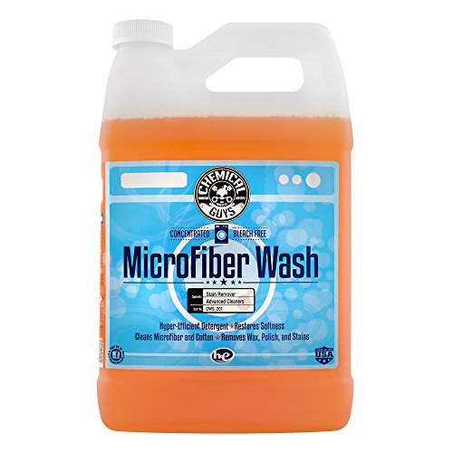 Chemical Guys CWS_201 Microfiber Wash Cleaning Detergent Concentrate (1 Gal) (Best Car Wash Presoak)