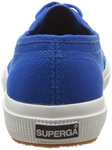 Superga Adults' top Blue Low Unisex Sneaker Sea Classic 2750 Cotu r4Zrqwa