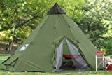 Guide Gear 18×18′ Teepee Tent
